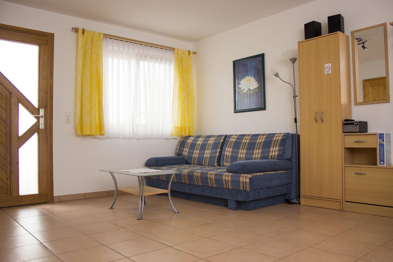 Der Hauptraum der Ferienwohnung 2