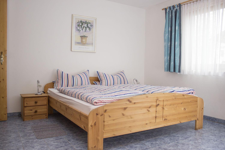 Das Schlafzimmer der Ferienwohnung 2