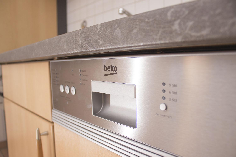 Die Geschirrspülmaschine in Ferienwohnung 2